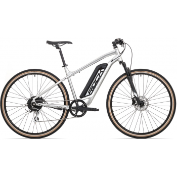 ROCK MACHINE Cross e325 gloss silver/black (400Wh)