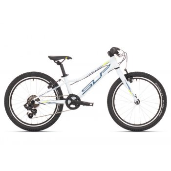 SUPERIOR Racer XC 20 Gloss White/Petrol Blue/Neon Yellow mod.021
