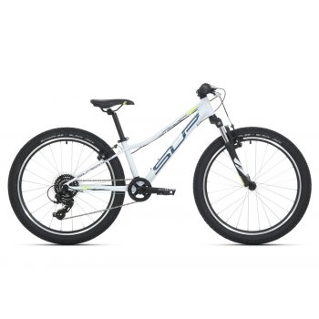 SUPERIOR Racer XC 24 Gloss White/Petrol Blue/Neon Yellow mod.021